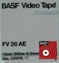 BASF Video Tape FV 26 AE CCIR